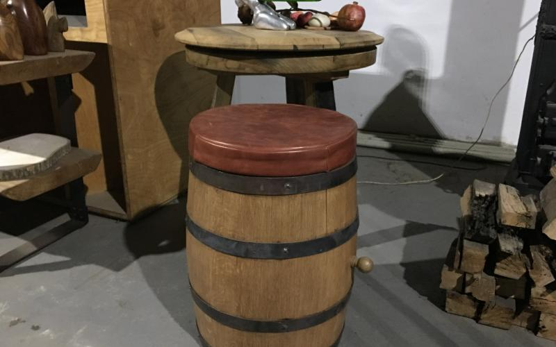 BARREL TABOURET