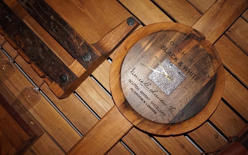 Настінний годинник у стилі лофт